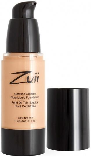Zuii Flora Liquid Foundation Olive Fair 30ml-Health Tree Australia