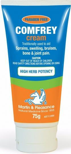 Martin & Pleasance Comfrey Cream 75gm Tube-Health Tree Australia