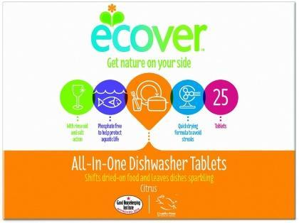 Ecover Dishwasher Tablets All In One 500g-Health Tree Australia