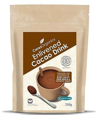 Ceres Organics Enlivened Cacao Drink 250g
