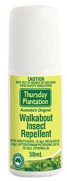 TP Walkabout Repel 50ml Roll On