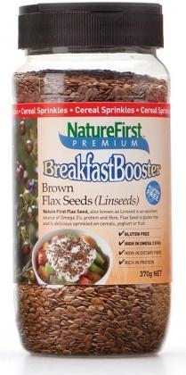 Natures First Brown Flax Seeds Shaker 370g-Health Tree Australia