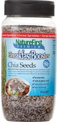 Natures First Breakfast Booster Chia Shaker 355g-Health Tree Australia