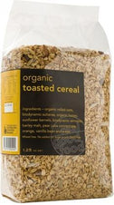 Real Good Foods Org W/F Toasted Cereal Bag 1.25kg-Health Tree Australia