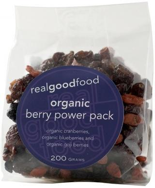 Real Good Foods Organic Berry Power Pack 100g-Health Tree Australia