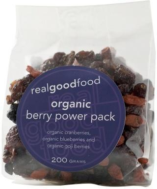 Real Good Foods Organic Berry Power Pack 200g-Health Tree Australia