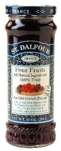 St Dalfour Four Fruits Fruit Spread 284g-Health Tree Australia