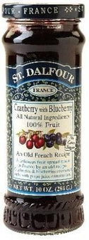 St Dalfour Cranberry Blueberry Fruit Spread 284g-Health Tree Australia