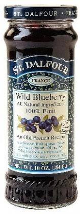 St Dalfour Wild Blueberry Fruit Spread 284g-Health Tree Australia