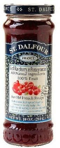 St Dalfour Raspberry/Pomegranat Fruit Spread Seasonal 284g