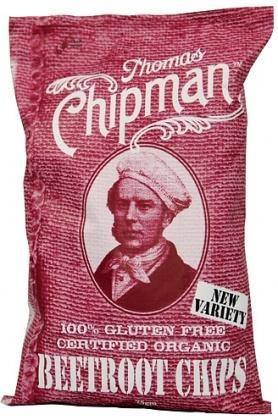 Thomas Chipman Org Beetroot Chips G/F 75g