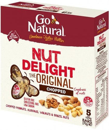 Go Natural Nut Delight Chopped 5x35g