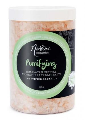 Nirvana Himalayan Crystal Salt Purifing Scented Bath Salts 600gm