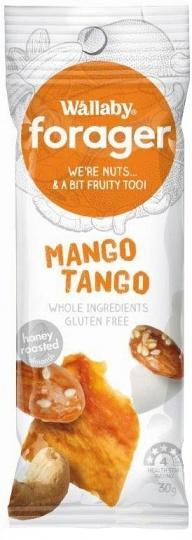 Wallaby Forager Mango Tango Snacks 8x35g MAR18