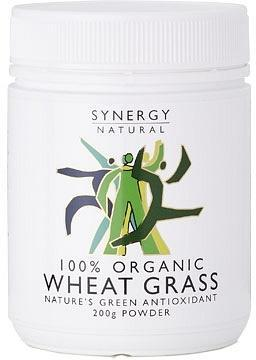 Synergy Organic Wheat Grass Powder 200g