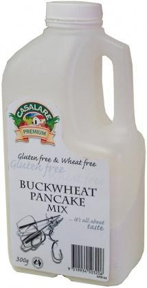 Casalare Buckwheat Pancake Mix 300g Bottle-Health Tree Australia