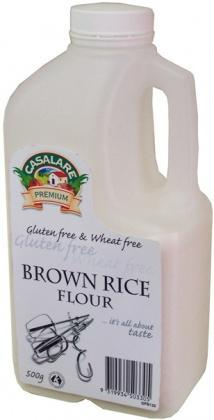 Casalare Pre-Cooked Brown Rice Flour 500g-Health Tree Australia