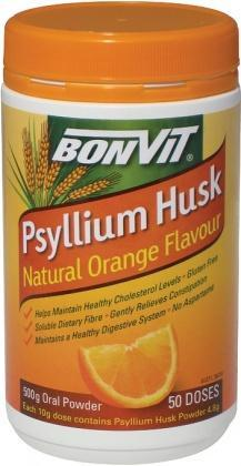 Bonvit Psyllium Husk Powder Natural Orange Flavour 500g-Health Tree Australia