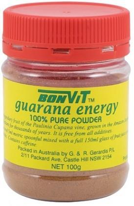 Bonvit Guarana Powder 100% 100g