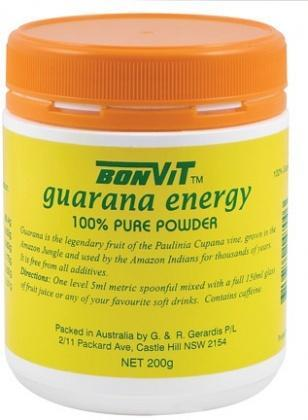 Bonvit Guarana Powder 100% 200g
