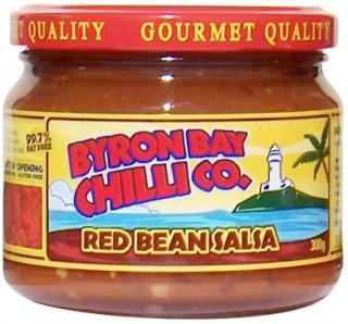Byron Bay Chilli Smokey Red Bean Salsa 300g-Health Tree Australia
