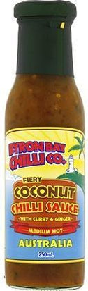 Byron Bay Chilli Fiery Coconut Chilli Sauce 250ml-Health Tree Australia