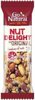 Go Natural Nut Delight Bars 16 x 40gms