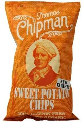 Thomas Chipman Org Sweet Potato Chips G/F 75g-Health Tree Australia
