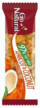 Go Natural Apricot And Coconut 12 x 35g-Health Tree Australia