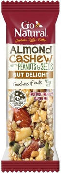 Go Natural Almond & Cashew Bar 16x45g-Health Tree Australia