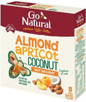 Go Natural Almond Apricot Coconut Nut Delight Bars G/F 5x35gm-Health Tree Australia
