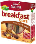Go Natural Breakfast Bar Walnut Date Maple 200gm-Health Tree Australia