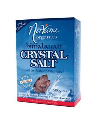 Nirvana Himalayan Crystal Salt Chunks 500gm New