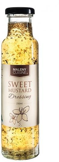 Maleny Cuisine Sweet Mustard Salad Dressing 250ml-Health Tree Australia