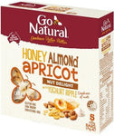 Go Natural Honey Almond & Apricot Ripple 5 x 35gm-Health Tree Australia
