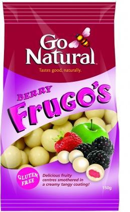 Go Natural Berry Frugo's G/F 150g