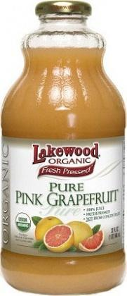 Lakewood Organic Pink Grapefruit Juice 946ml-Health Tree Australia