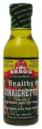 Bragg Dressing Vinaigrette Organic 355ml-Health Tree Australia