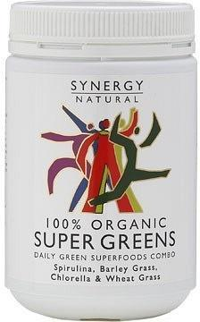 Synergy Organic Super Greens Powder 500g-Health Tree Australia