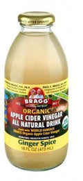 Bragg Organic Apple Cider Vinegar Drink Ginger Spice 473ml