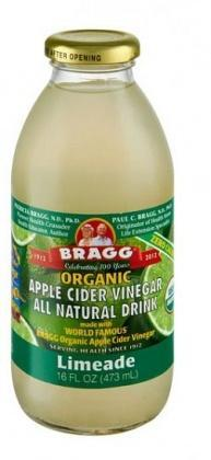 Bragg Organic Apple Cider Vinegar Drink Limeade 473ml-Health Tree Australia