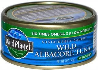Wild Planet Tuna Albacore No Salt 142g