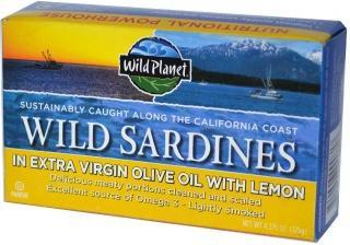 Wild Planet Sardines in Oil & Lemon 125g-Health Tree Australia