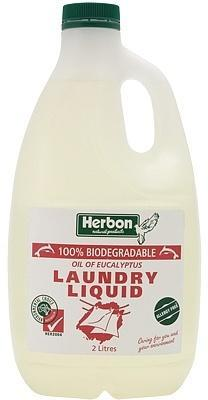 Herbon Fragrance Free Laundry Liquid 2lt