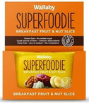Wallaby Superfoodie Banana Coconut Walnut Chia Slice G/F 8x48g-Health Tree Australia