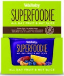 Wallaby Superfoodie Blueberry Lemon Slice G/F 8x48g-Health Tree Australia