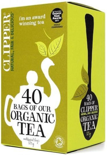 Clipper Organic Black Everyday Tea G/F 40Teabags