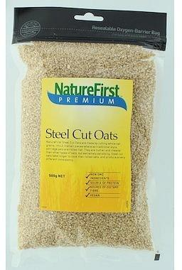 Natures First Steel Cut Oats 500gm-Health Tree Australia