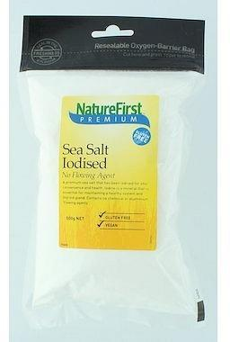 Natures First Iodised Sea Salt - No Flowing Agent 500g-Health Tree Australia