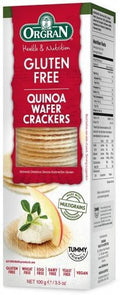 Orgran Multigrain Wafer Crackers w/Quinoa G/F 100g